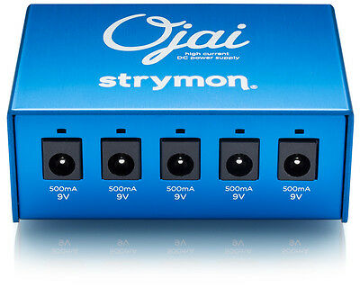 Strymon Ojai Power Supply Fully Isolated High Current for Guitar Effect Pedals