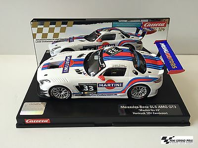 "Carrera Digital 124 Mercedes-Benz SLS AMG GT3 ""Martini No.33"" 23825"