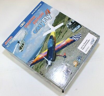 Ikarus Flight Simulator easyFly4 Starter Edition with Controller *OPEN BOX* Flig