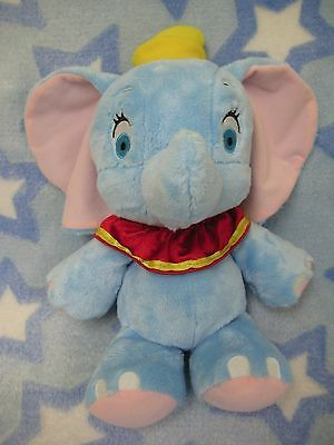 "Disney Dumbo elephant plush soft dream 10"" baby white pink wmdreamsz"