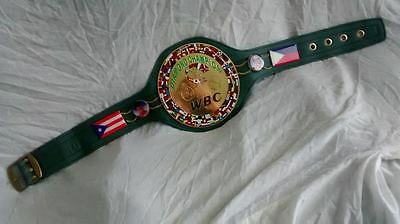 WBC Diamond Championship Replica unique Green Belt  WBC Boxing ChampionshipBelts
