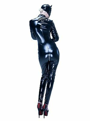 Lackcatsuit Weiss Overall Weisser Lackoverall Lackweiss Sexy Lack Catsuit Anzug