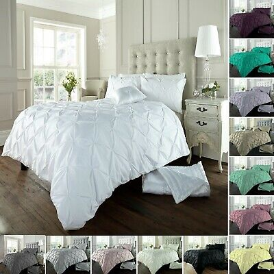 Alford Pintucks Luxurious Duvet Covers Quilt Covers Bedding Sets All Sizes