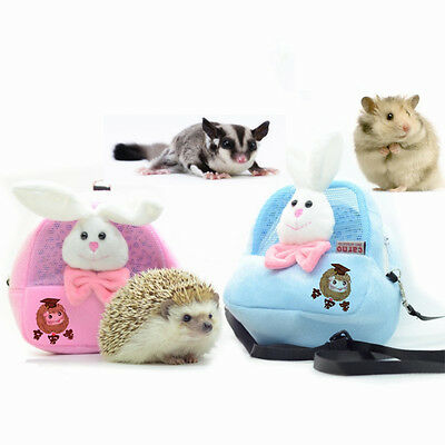 Hamster Hanging Outgoing Hanging Bag Ferret Squirrel Rabbit Outdoor Bow Cage Bed
