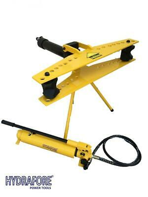 "Hydraulic Pipe Tube Bender with Separable Hand Pump (1/2"" - 3"") W-3F-MP"
