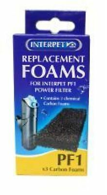 Interpet Replacement Carbon Foams - PF1 Replacement Foams