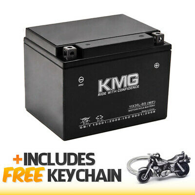 YIX30L-BS-1X Sealed Maintenance-Free Battery 12V AGM+Cruiser Keychain