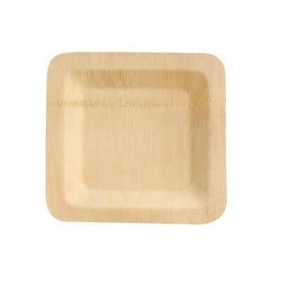 """Bambi"" Square Bamboo Plate 7 in."