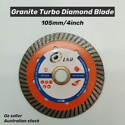 4inch Professional Granite Turbo Diamond blade Concrete/pave/brick/stone/metal