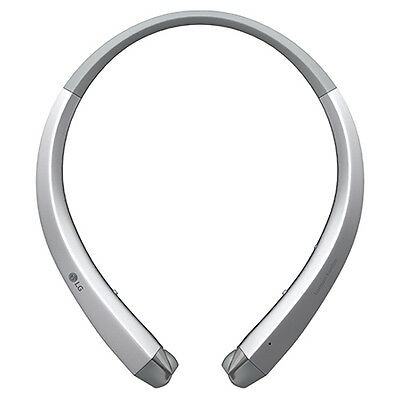 New LG Tone Infinim HBS-910 Bluetooth Stereo Headset - Silver