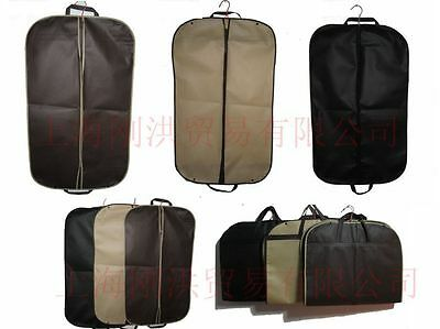 Brand new Large Suit Carrier Garment Cover Travel Bag Strong Nylon Zip Folding