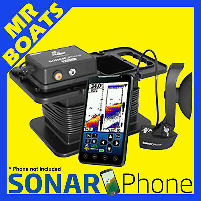 SONAR PHONE PORTABLE ✱WIRELESS FISHFINDER SP300 T-Box PORTABLE✱ FREE POSTAGE NEW