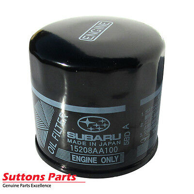 New Genuine Subaru Liberty, Impreza, Forester Oil Filter Element Part 15208Aa100