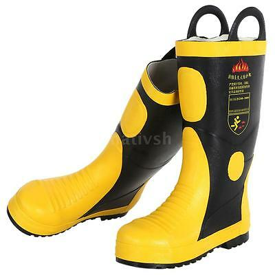 Portable Fire Protection Boots Anti-fire  Electrical Proof Chemical Proof V6I6