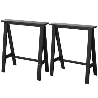 Mix and Match Trestle Legs 2 Pack Black