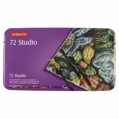 Derwent Studio Pencils Tin 72 Pack