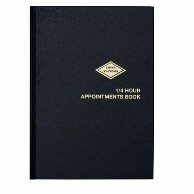 Zions 1/4 Hour Appointment Book