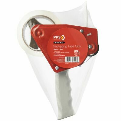 PPS Packaging Tape Dispenser with 48mm x 50m Moving Tape