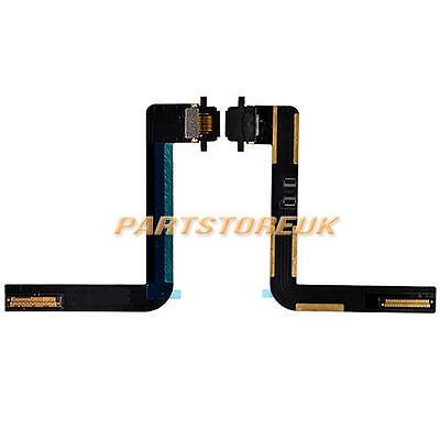 Black USB Charging Charger Port Dock Connector Flex Cable For Apple iPad Air UK
