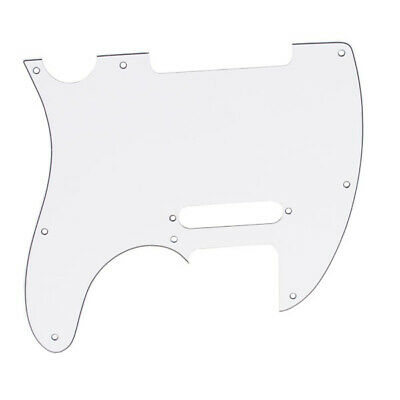 White 3-ply 8 hole Pickguard for Fender Telecaster Tele Scratchplate