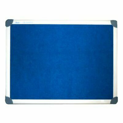 NEW Penrite Board 900x600mm Aluminium Frame Felt Board Blue Menu Board