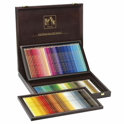 Caran d'Ache Supracolor Soft Watercolour Pencils Box of 120