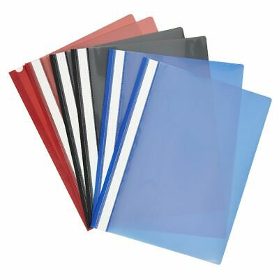 Keji Flat File A4 Assorted Colours 6 Pack
