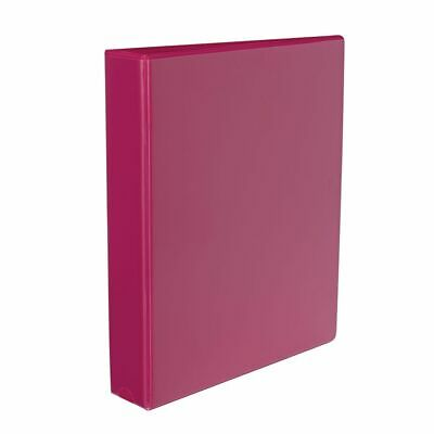 J.Burrows Insert Binder A4 3 D-Ring 38mm Pink