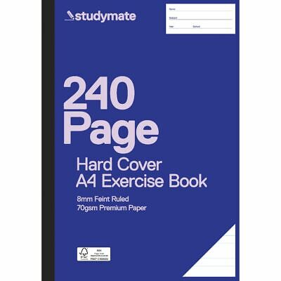 Studymate Premium A4 Hardcover Exercise Book 240 Page