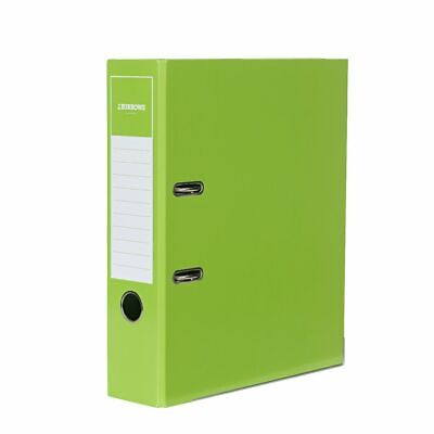 J.Burrows Gloss Lever Arch File A4 2 Ring Green
