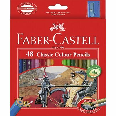 Faber-Castell Classic Coloured Pencils 48 Pack