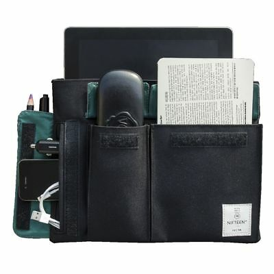 Nifteen Thinner Travel Organiser Black