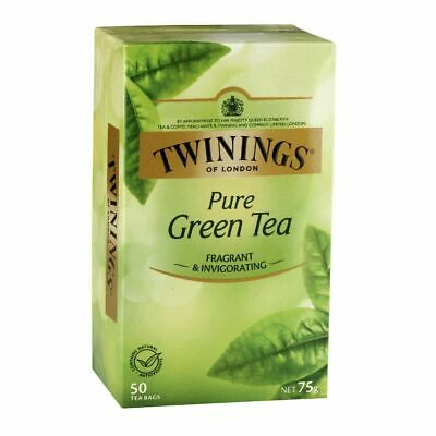 Twinings Pure Green Tea Bags 50 Pack