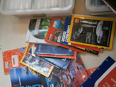 Lucas QH Intermotor Unipart etc. Job Lot Bulk Lot of Parts Catalogues x 23