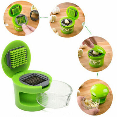 Presser Crusher Plastic Dicing Multifunction New Garlic Press Slicer Grater
