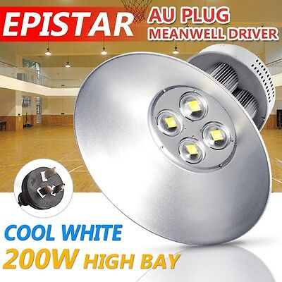 LED 200W High Bay Lighting Light Lamp Warehouse Industrial Factory Commercial
