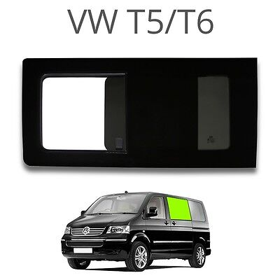 Left opening window (privacy) for VW T5 Glass Windows for Campervans