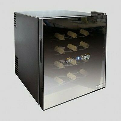 Husky HN5 Reflections 16 Bottle Countertop Wine Cooler - Black.