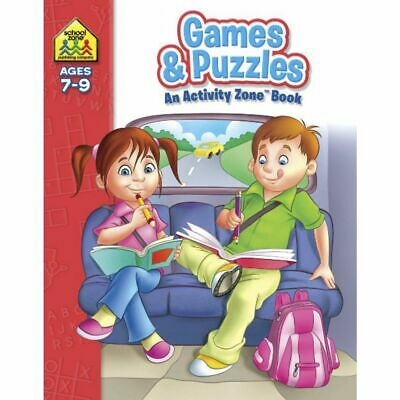 School Zone Games and Puzzles Activity Zone Workbook