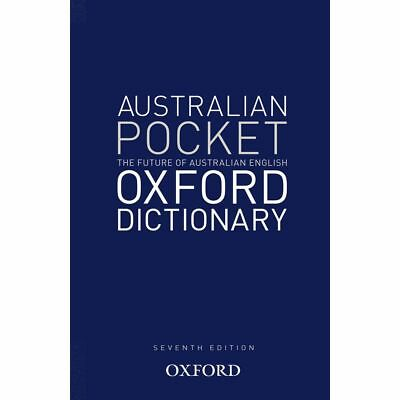 Oxford Australian Pocket Dictionary 7th Edition