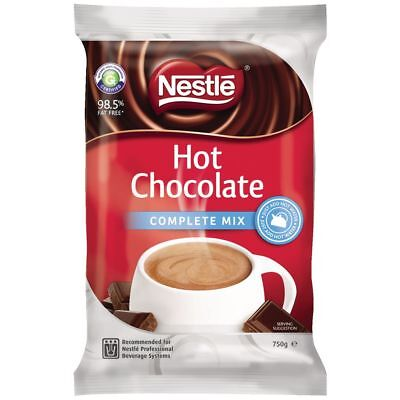 Nestle Hot Chocolate Complete Mix Soft Pack 750g