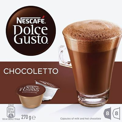 Nescafe Dolce Gusto Hot Chocolate Capsules 16 Pack