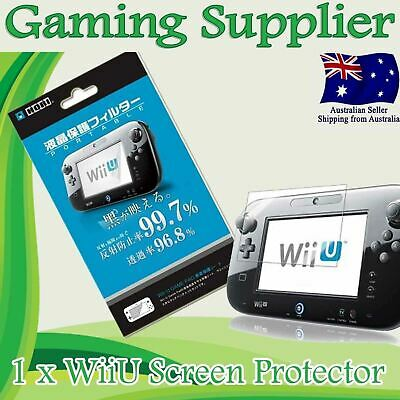 Premium LCD Screen Guard Protector for Nintendo Wii U Gamepad Controller