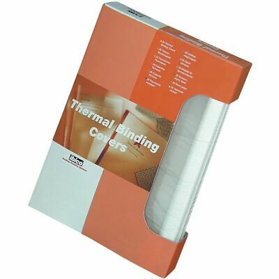 GBC A4 Thermal Covers 3.0mm White 100 Pack