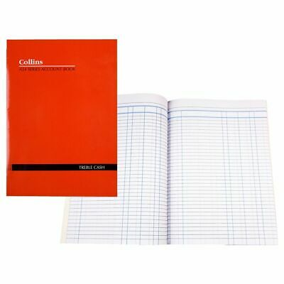 Collins A24 A4 Account Book 3 Money Column