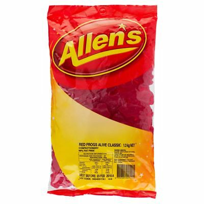 Allen's Red Frogs 1.3kg Bag