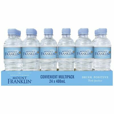 Mount Franklin Water 400mL 24 Pack