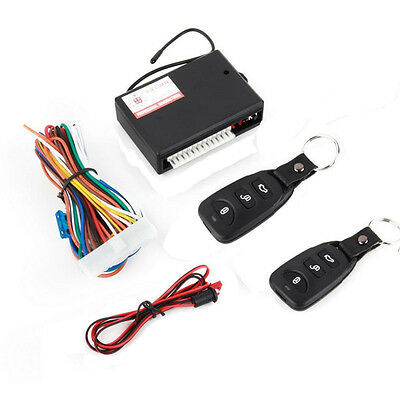 Universal Door Lock Vehicle Keyless Entry System Auto Car Remote Central Kit