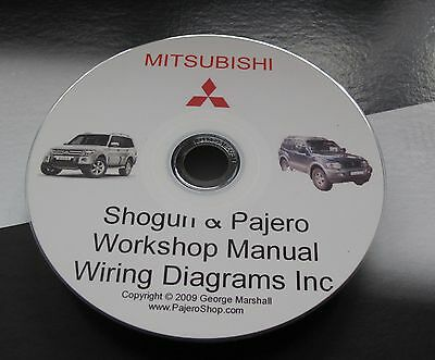 shogun mitsubishi workshop & 2 8 td 4m40 engine manual & wiring diag