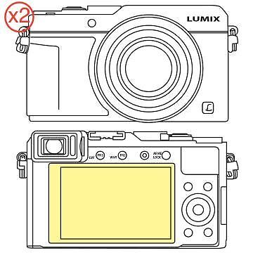 Martin Fields Overlay Plus Screen Protector (Panasonic Lumix LX100) Twin Pack